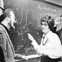 inte kvinnliga fysiker
