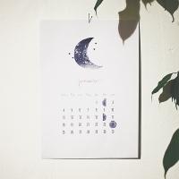 månatlig kalender 2016: januari