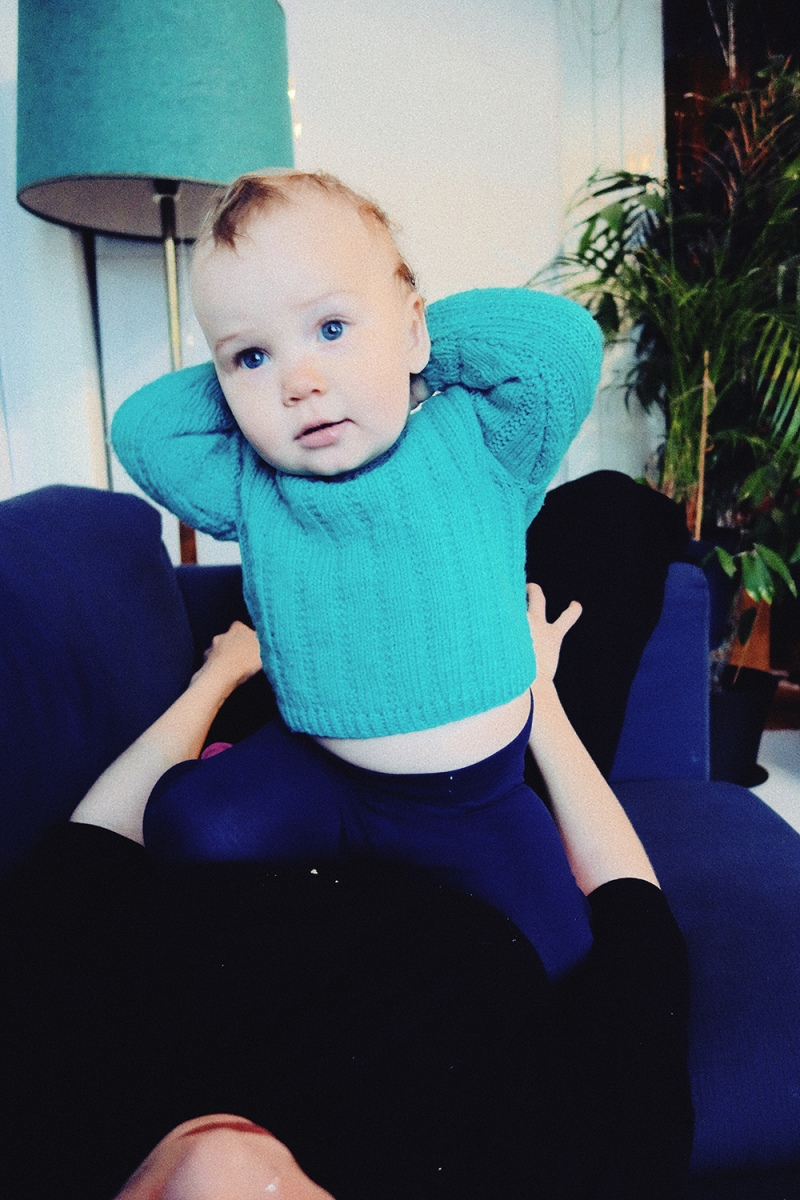 Babyblått och babybisarrt